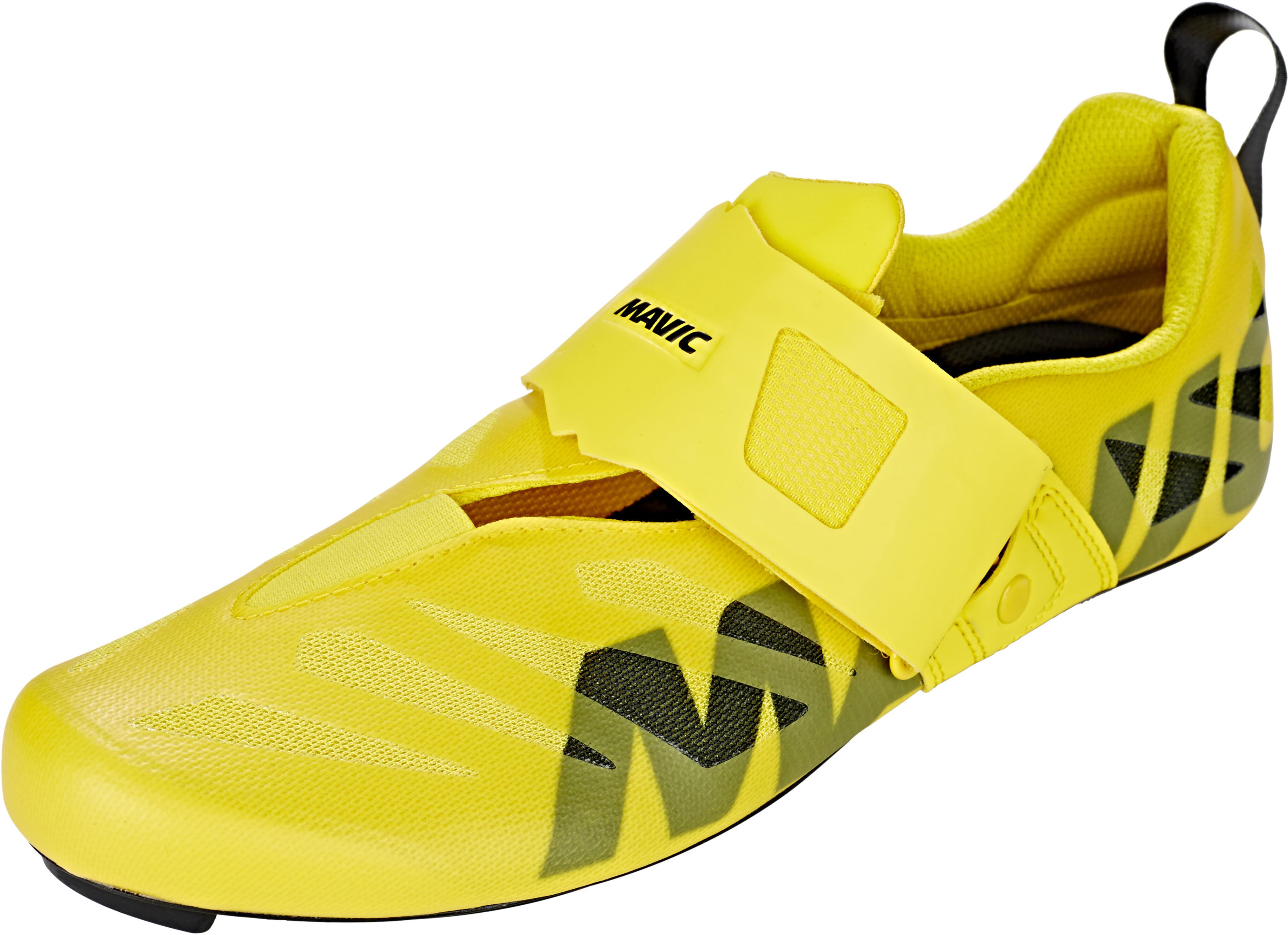 outlet store 360f6 45e19 Mavic Cosmic SL Ultimate Tri - Zapatillas Hombre - amarillo negro